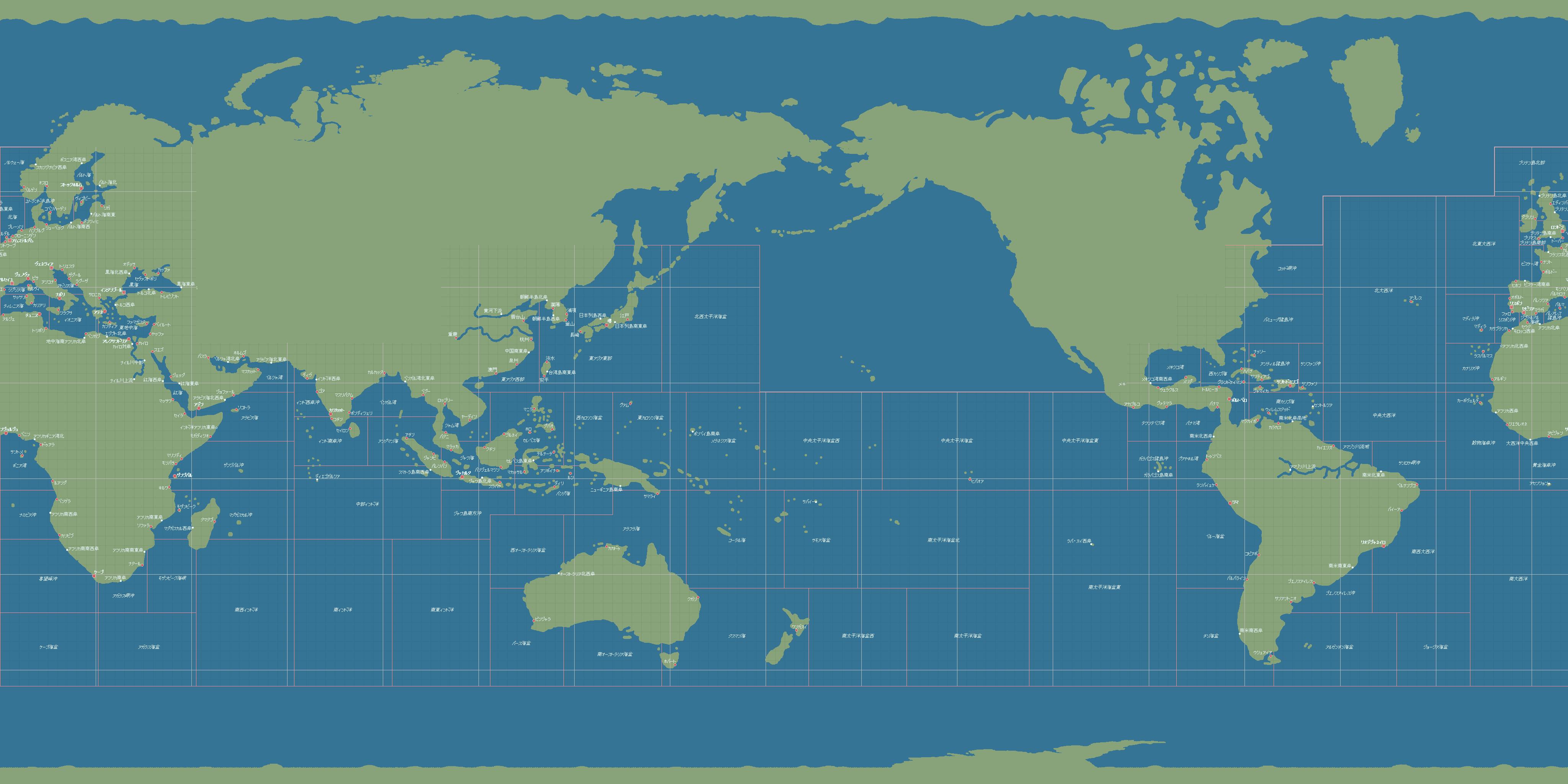 大航海时代 s.c & i.j 夫妻冒险笔记: 东亚地图